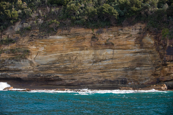 sandstone and water