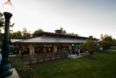 Evening falls over the back sales ring on opening night, 9.10.2012