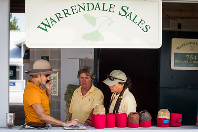 The Warrendale Sales crew preparing for the Keeneland September Sale 9.07.2012