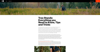 Blog post for onX Hunt.  https://www.onxmaps.com/blog/hunting-tree-stands-everything-you-need-to-know-plus-tips-tricks