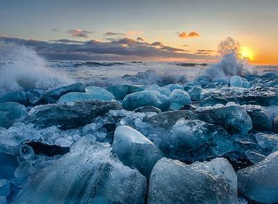 Ice Beach Sea 'Ice' Beach