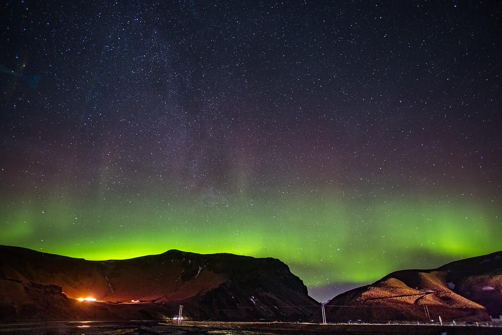 Aurora over VIk