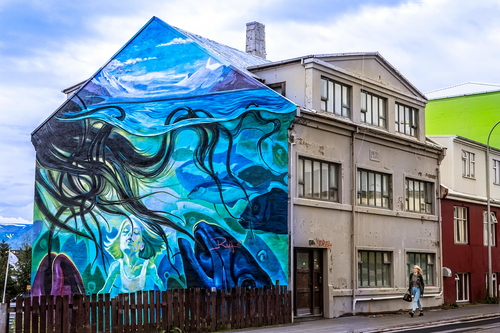 Art in Downtown Reykjavik
