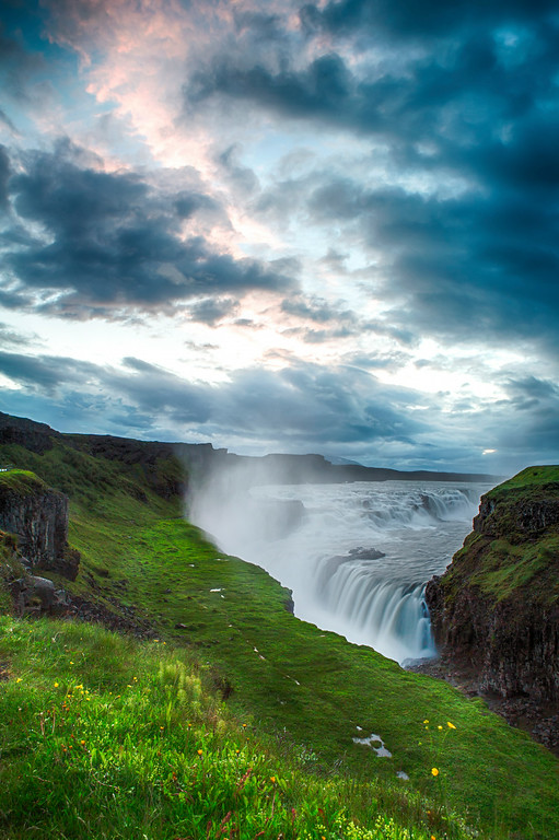 Gullfoss at Dawn