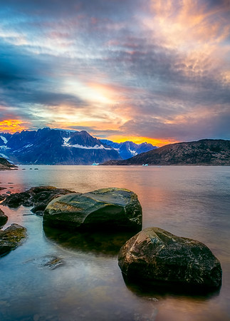 Summer Greenland Skies