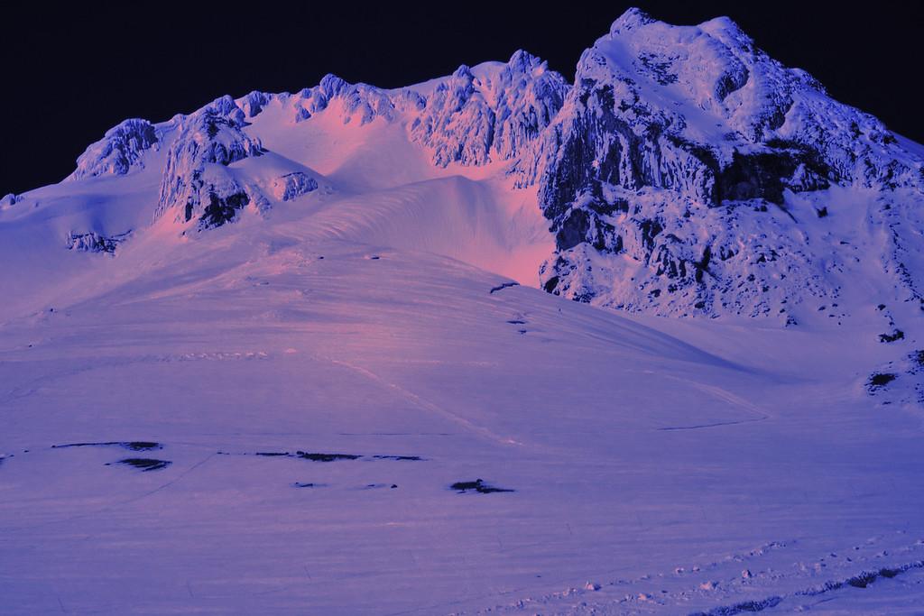 Mt Hood from the Silcox Hut
