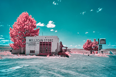 Abandoned Millican Store - Millican Store