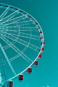 The Seattle Great Wheel - Seattle Washington