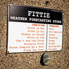 The Fittie Weather Forecasting Stone.  (Taken March 2017).  Footdee, Aberdeen.