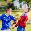 First shot from last night's #Lochranza vs #Brodick #football on the #isleofarran.  On this shoot, I tried to be more disciplined on technique, and aimed to capture the essence of movement and energy in the game.  Here's attempt 1.