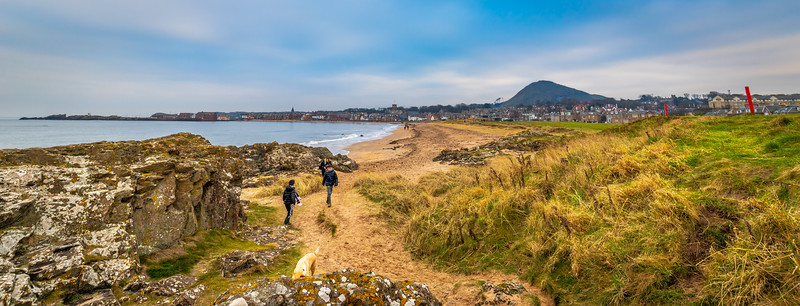 North Berwick Beach last weekend.
