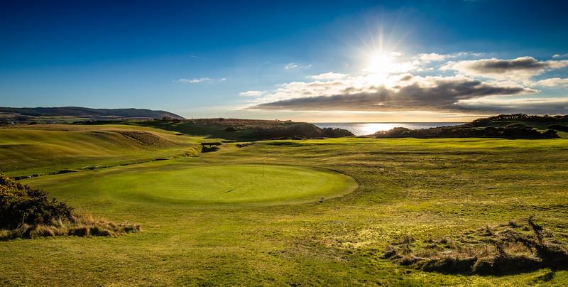 Shiskine Golf Course, just a few days ago.  @shiskine_golf_and_tennis_club