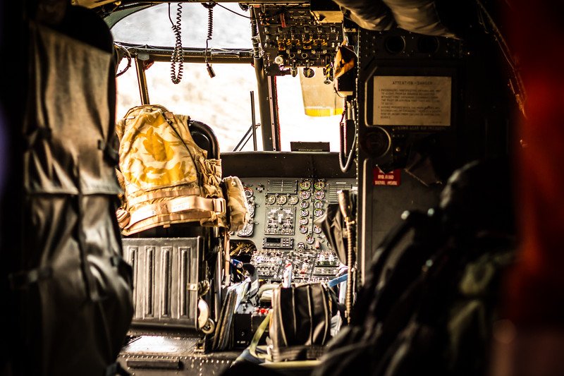 Sea King Cockpit