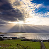 #sunburst over Machrie Bay a few days ago.