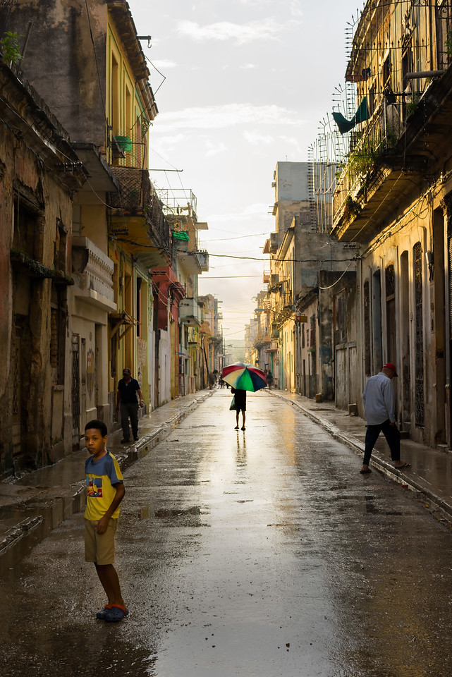 Sunshine after the rain in Havana Cuba - Intentionally Lost and Kevin Wenning #intentionallylost
