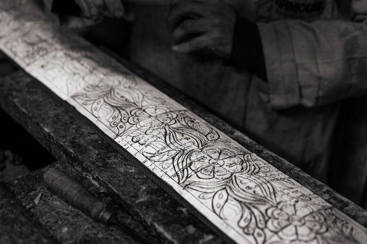 Hand Carved Mouldings from a workshop in Fes Morocco - Photography workshop with Intentionally Lost and Kevin Wenning #intentionallylost