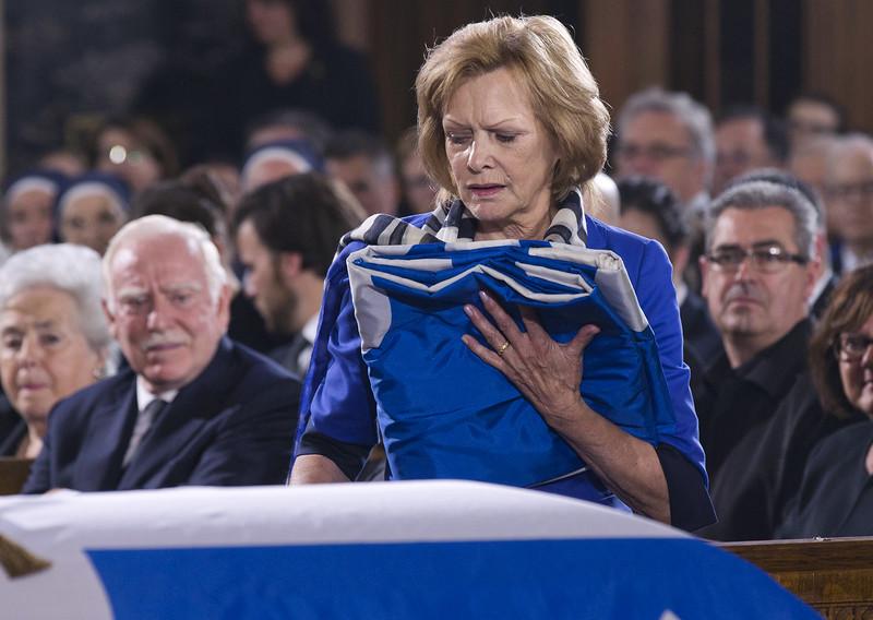 Funérailles de Jacques Parizeau. 2015