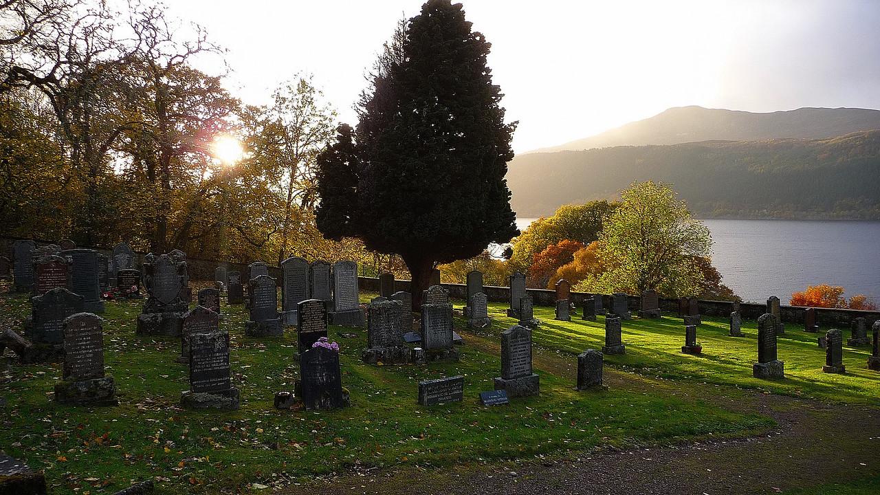 Dead centre of Loch Ness