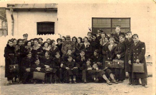 Заліщики, 1938-39. Гімназисти