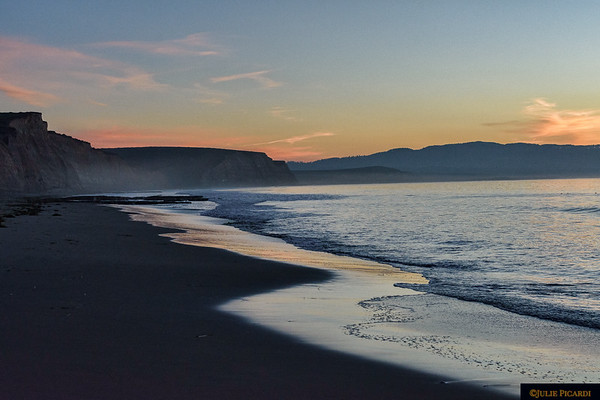 Dawn at Drake's Beach, Point Reyes National Seashore, CA