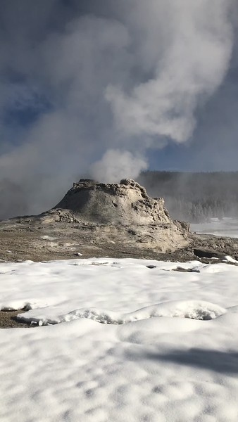 VIDEO:  Castle Geyser in Upper Geyser Basin