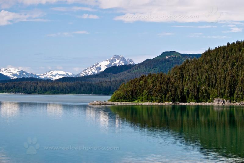 Stillness on Glacier Day