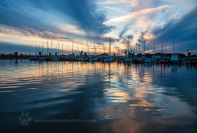 Dusk on Rockport Harbor