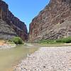 Santa Elena Canyon and The Rio Grande