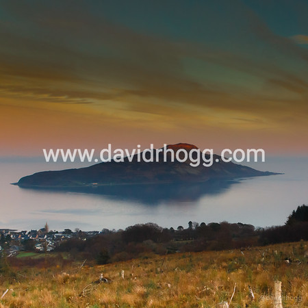 Holy Isle from Lamlash