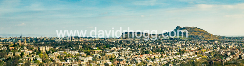 Edinburgh from Blackford Hill