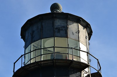 Top of the Cape Disappointment Lighthouse.