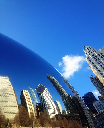 """Bean's Reflection""   Chicago"