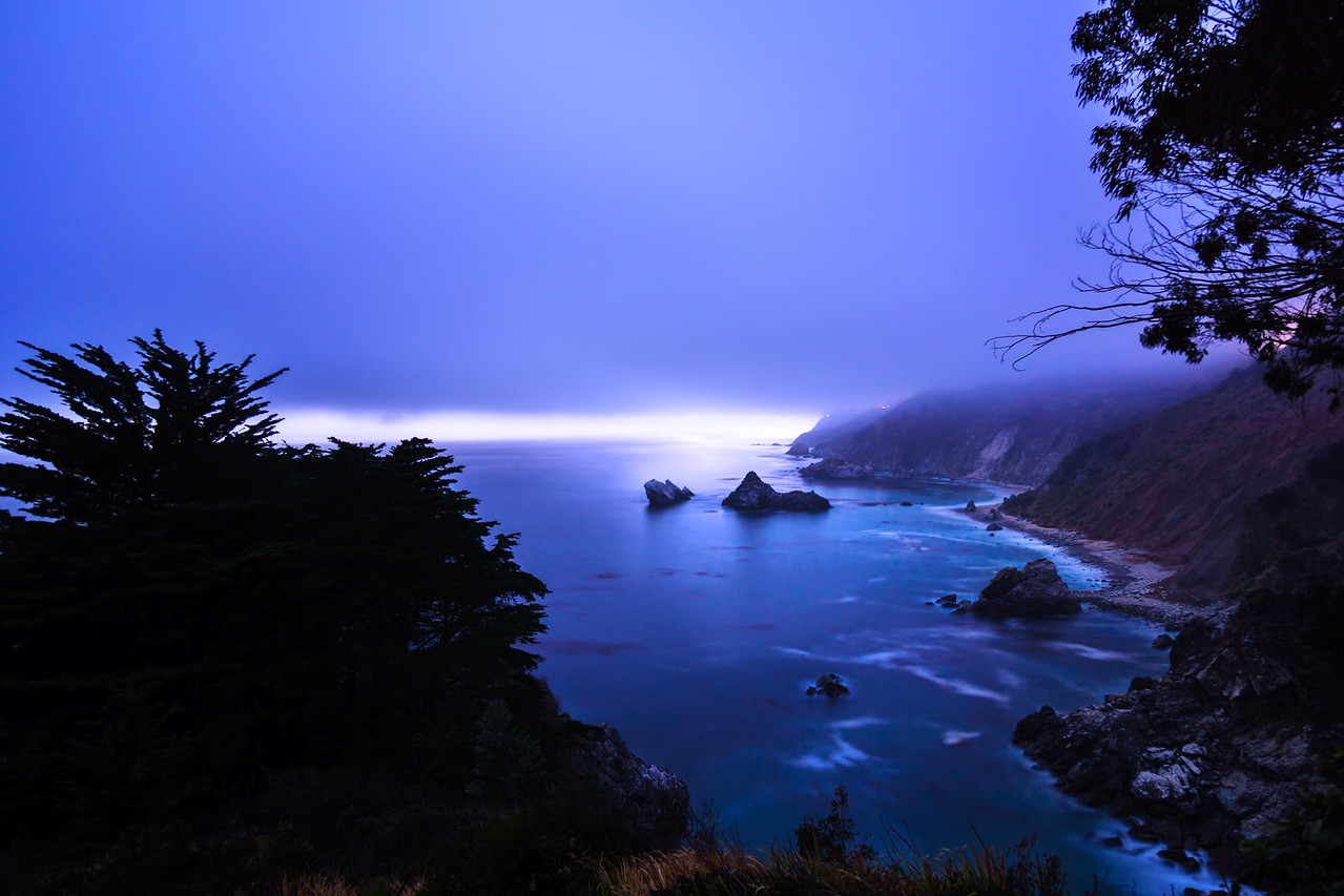 Julia Pfeiffer Burns State Park from McWay Falls with Intentionally Lost and Kevin Wenning #intentionallylost