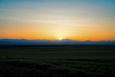 NoCo Front Range Sunset