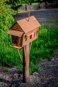 Rusty Mailbox, Ellensburg, WA