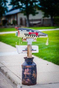 Fishing Lure Mailbox