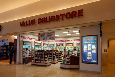 Drugstore at the Airport