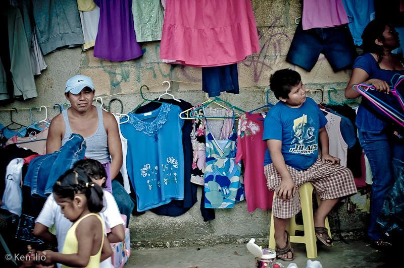 Mayan Steet Market