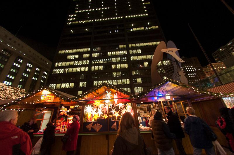 Christkindle Market at Night