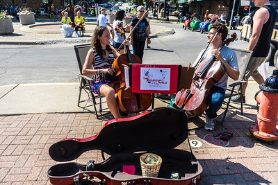 Busking at the Market