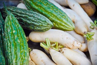 Bitter Gourd and White Radish