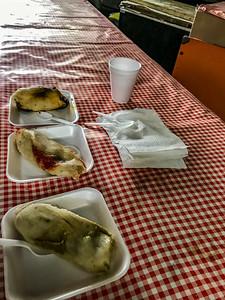 Various street food, Abelardo Rodriguez Market, Mexico City