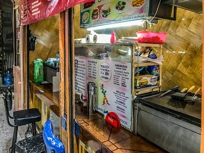Food stall at the Mercado de Abelardo Rodriguez in Mexico City
