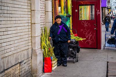 Palm Leaves Vendor