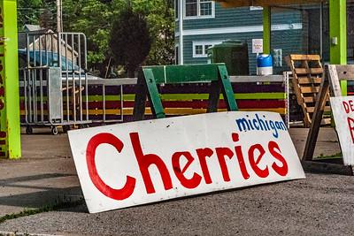 Cherry Season in Traverse City