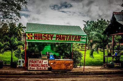 Pantatan along the highway, Iloilo City