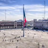 The Zocalo of Mexico City