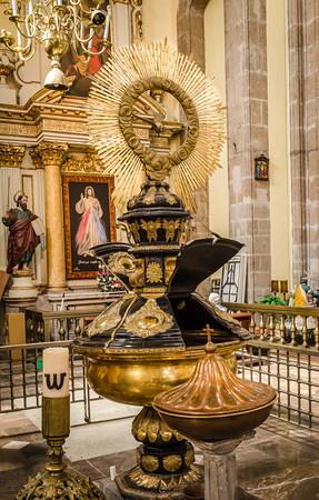 Golden Baptismal