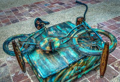 Little Green Bike