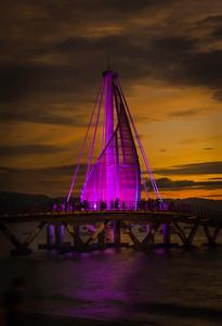 Shades of Purple at Night